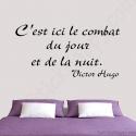 Stickers citation Victor Hugo