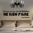 Stickers citation se reposer