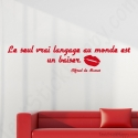 Stickers citation baiser