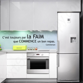 Stickers citation faim