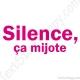 Stickers frigo silence ça mijote
