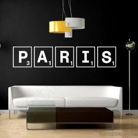 Stickers Paris jeu de société