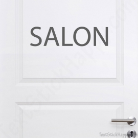 Stickers porte de salon