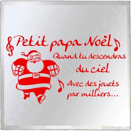 Stickers petit papa Noël