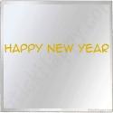 Stickers Happy New Year