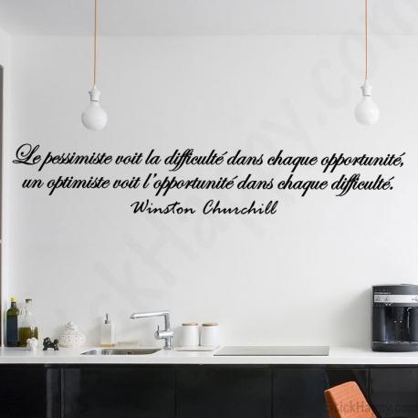 Stickers citation Winston Churchill