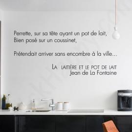 Stickers fable de La Fontaine