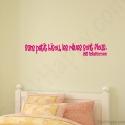 Stickers citation rêves flous