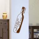 Stickers citation sur le vin