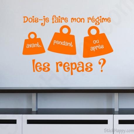 Stickers Phrase Pour Cuisine Stickhappy Com Stickers Citation