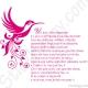 Stickers colibri