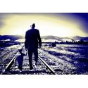 """Création Photographique """"L'homme et l'enfant"""" par Archi-StickHappy.com"""