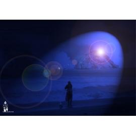 """Création Photographique """"L'homme et la mer"""" par Archi-StickHappy.com"""