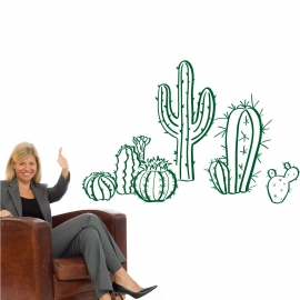Cactus à coller - StickHappy