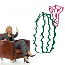 Cactus fleurs en adhésifs découpé - StickHappy