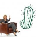 Cactus double autocollant découpé - StickHappy