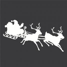 Adhésif Déco Noël - Père Noël