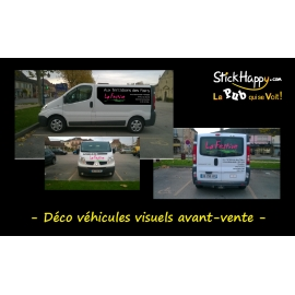 Stickers Voiture Professionnels - StickHappy