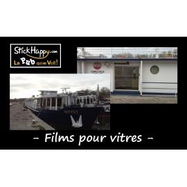 Film pour vitre bâtiments - StickHappy