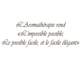 Déco Aromathérapie - StickHappy.com