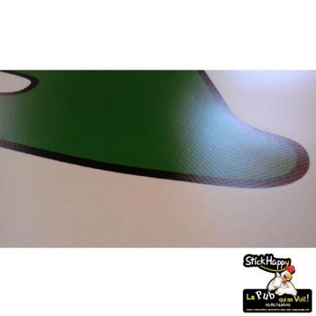 Banderoles et Bâches Publicitaires sur mesure - StickHappy.com