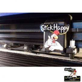 Pochoir de Sablage pour le verre - StickHappy.com