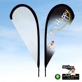 Drapeau sur Pied 71 - StickHappy.com