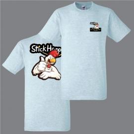 T-shirt pub flocage broderie - StickHappy.com