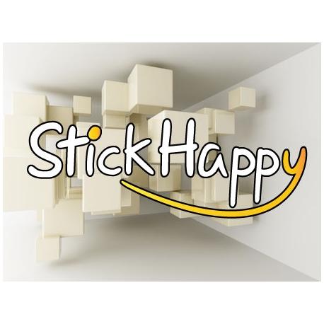 Rénovation de votre logo couleur - StickHappy.com