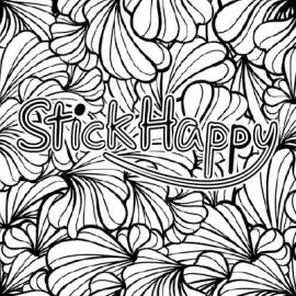 Rénovation de votre logo noir et blanc - StickHappy.com