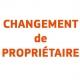 Changement de Propriétaire pour vitrine - StickHappy.com