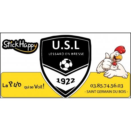 Panneau Publicitaire Stade USL