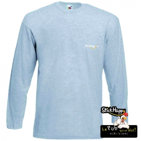 Flocage T-shirt Manche longue- StickHappy.com