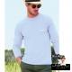 Flocage T-shirt Manche longue blanc- StickHappy.com