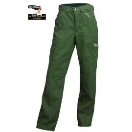 Pantalon de travail doublé polaire - broderie - StickHappy.com