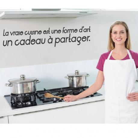 Stickers citation cuisine et art