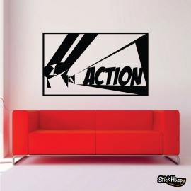 Stickers décoration mur salon