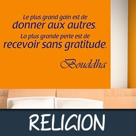 Stickers Muraux Citations - Spiritualité