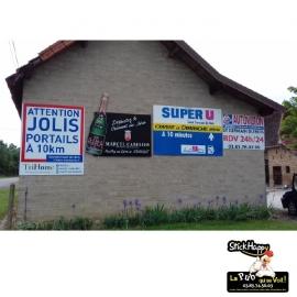 Panneaux Pub permanente